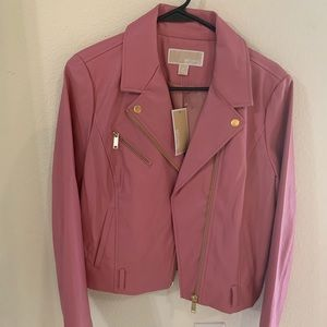 Michael Kors Jackets & Coats - Michael Kors pleather jacket